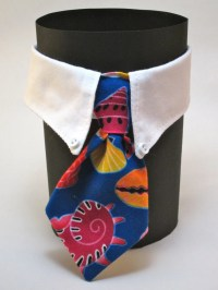 Seashell Business Cat Tie and Collar by SewSmooth on Etsy