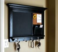 Home Decor Wall Mail Organizer Storage Cork Board Office Decor