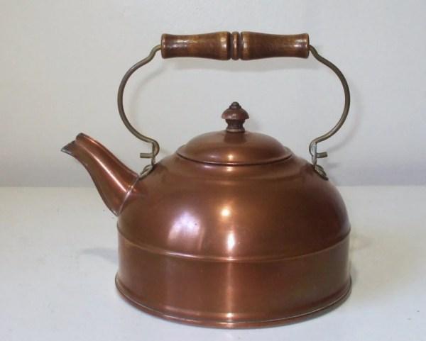 Vintage Copper Tea Pot Revere Ware
