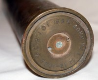 1942 WWII 40 MM MK1Brass Shell Casing by VictorianCobweb ...