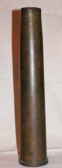 1942 WWII 40 MM MK1Brass Shell Casing
