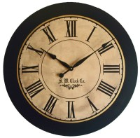 36 inch Lexington Large Wall Clock Antique style big Roman