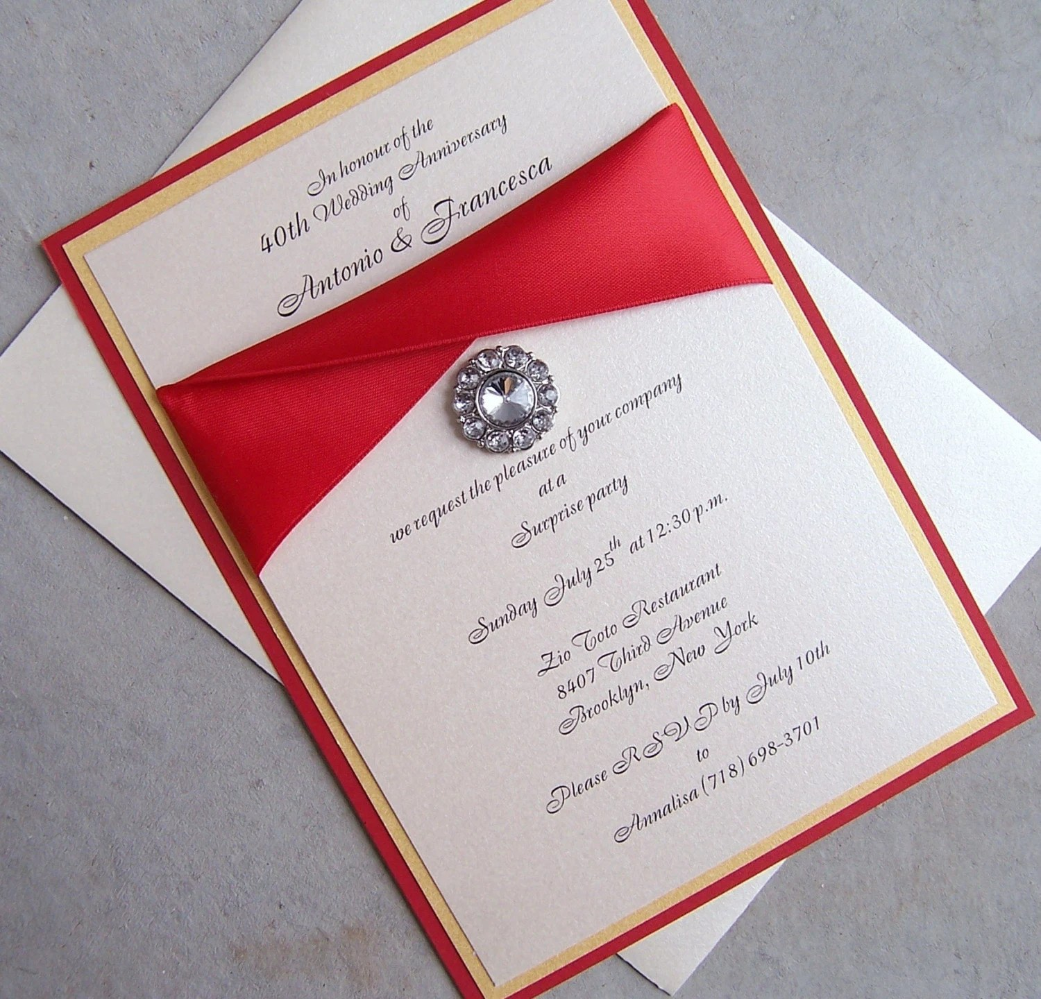Request Your Presence Wedding Invitations
