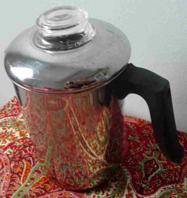 Coffee Percolator 10 Cup Revere Ware Stainless Steel