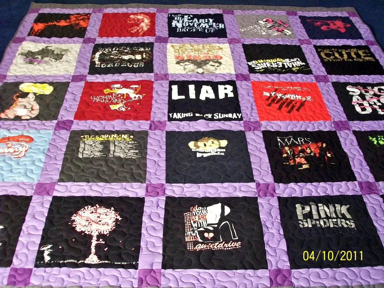 T Shirt Quilt Made Order