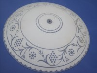 Large Round Frosted Glass Ceiling Light Cover