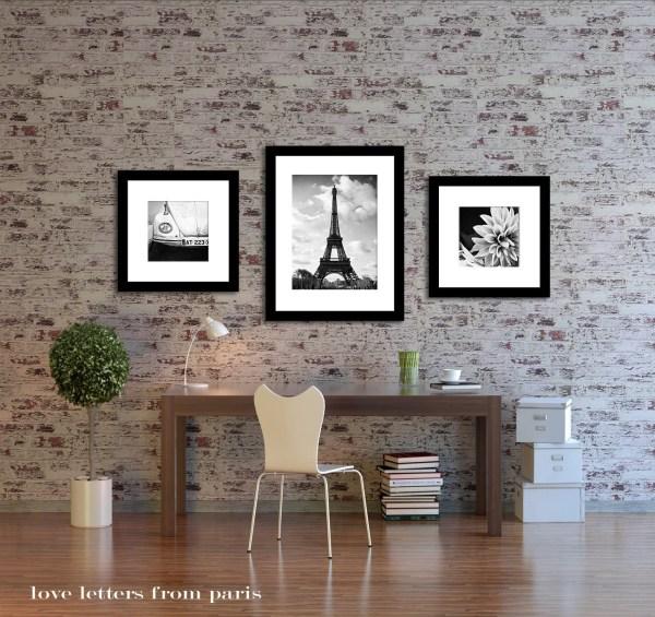 Paris Home Decor Wall Art