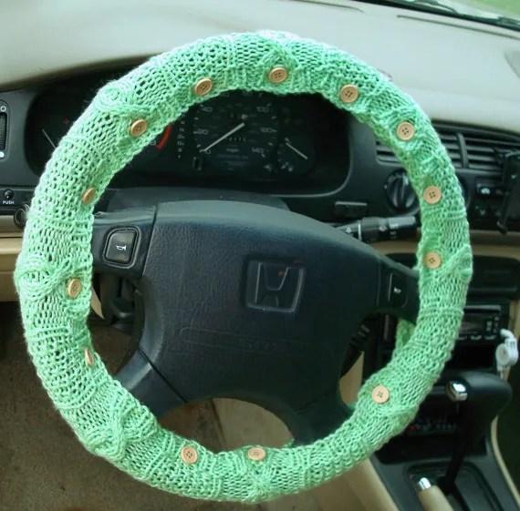 Mint Steering Wheel Cover
