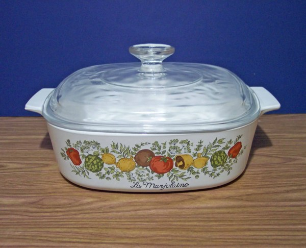Corning Ware Spice Of Life Casserole And Lid. Lamarjolaine 2