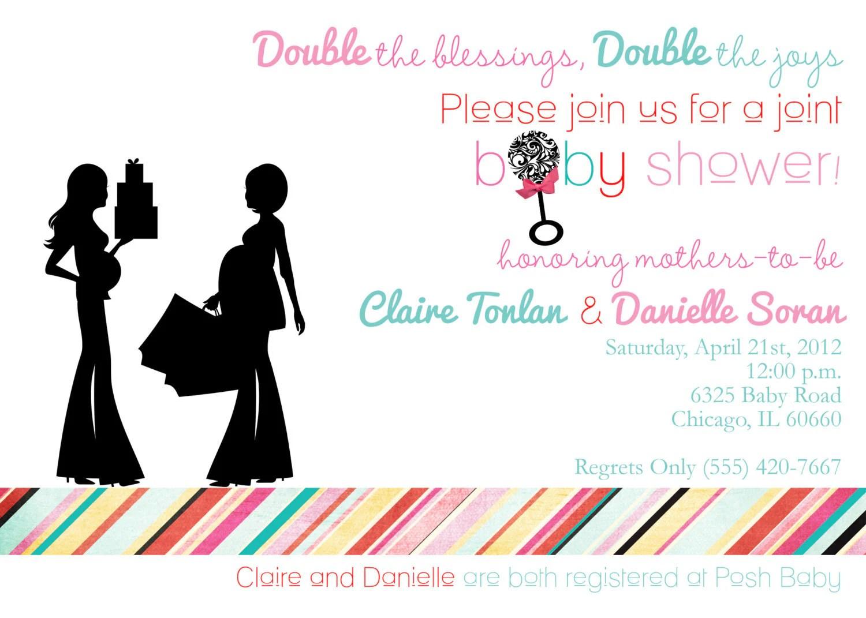 Double Birthday Party Invitation Wording