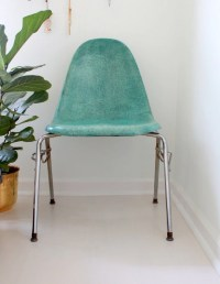 Vintage Sea Green Fiberglass Chair by by FullCircleRetro ...