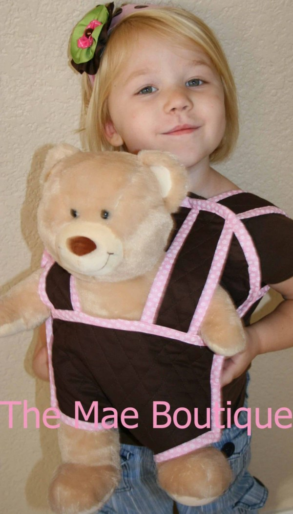 Baby Doll Carrier Backpack Front