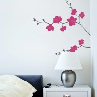 Orchid Flower Decal Nature Vinyl Wall Decal