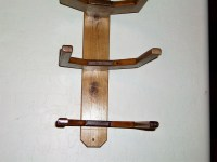 Cowboy Western Hat Rack Wall Mount for 3 Hats by BormanRRRanch