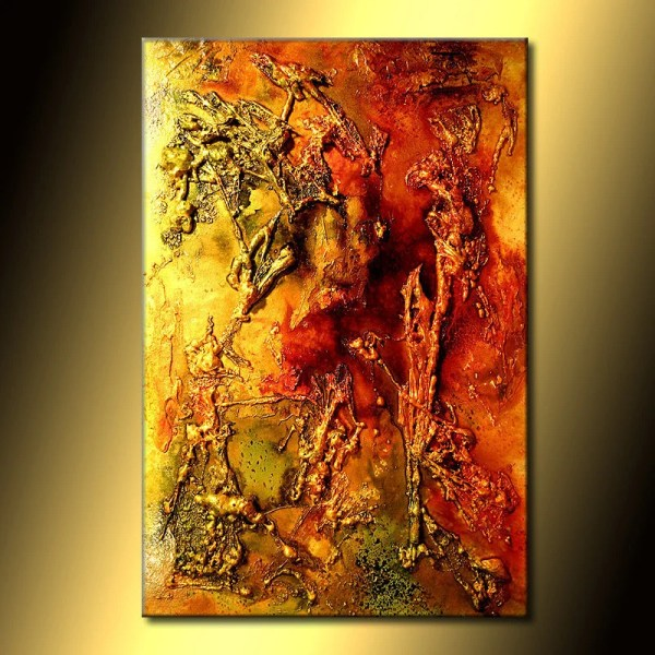 Abstract Painting Canvas Art Original Modern