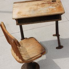 Chair For Child S Desk Metal Patio Table And Chairs Antique Children 39s Kenney Bros By