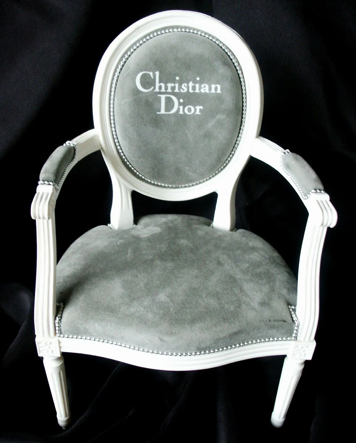 louis ghost chair beach wheelchair xvi christian dior doll vintage advertising
