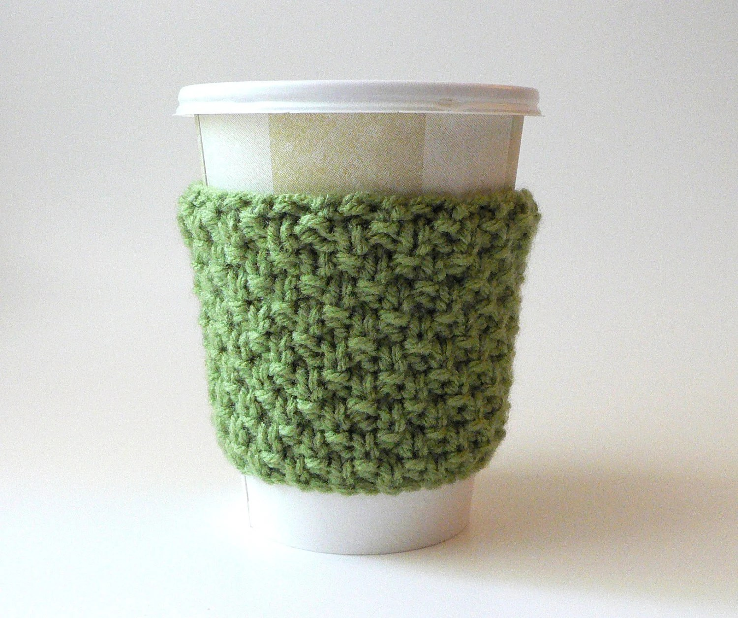 Coffee Cup Sleeve/Cozy - Dusty Green