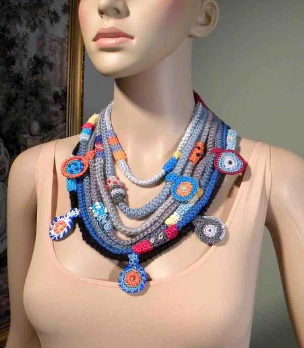 Wearable Fiber Art Jewelry