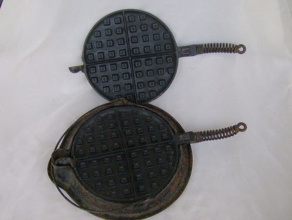 Waffle Iron Malted Golden Carbon