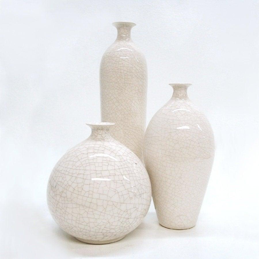 Wonderbaarlijk Witte Vaasjes | Scandi Home - White Vases ET-31