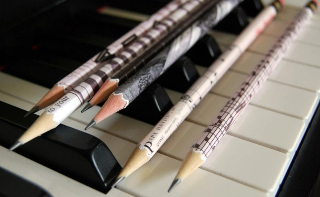 Personalized Pencils Gift For Musicians Teachers By