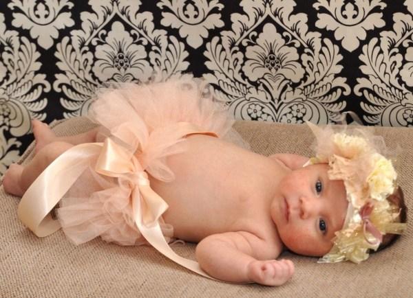 Antique Pink Baby Ballerina