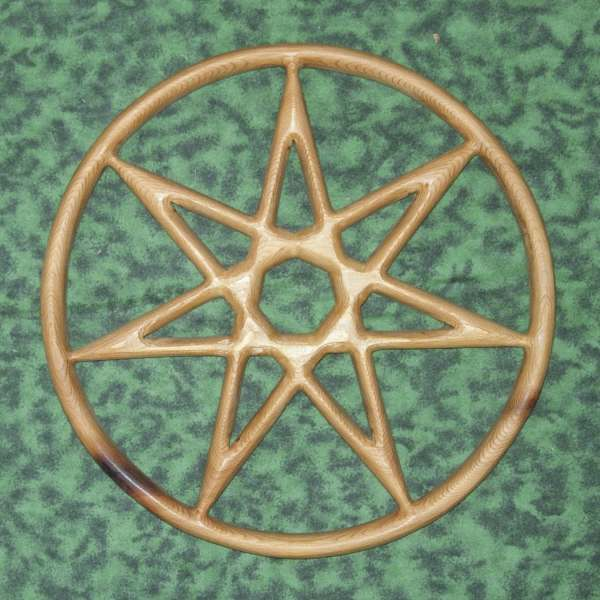 Fairy Star Of Enchantment-wiccan Feri-elven Star-kabbalah