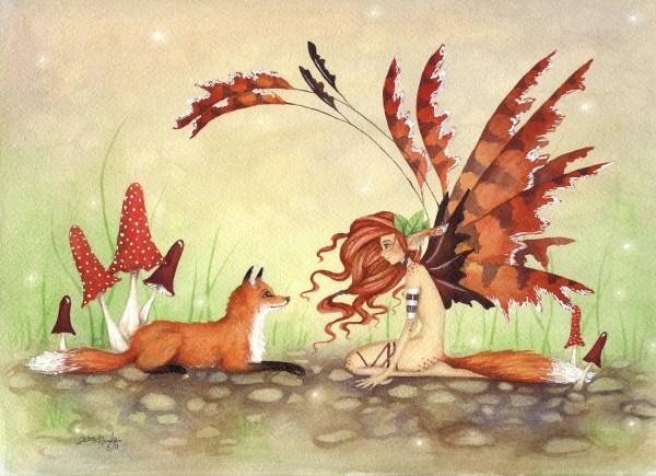 Whimsical Art Fairy Tales Animals