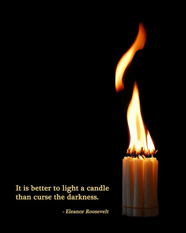 Al Pacino Quotes Wallpaper Candle And Flame Light A Candle Against The Darkness