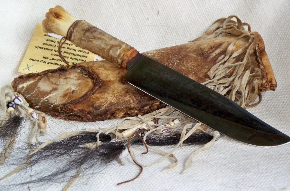 Native American Knives Antique