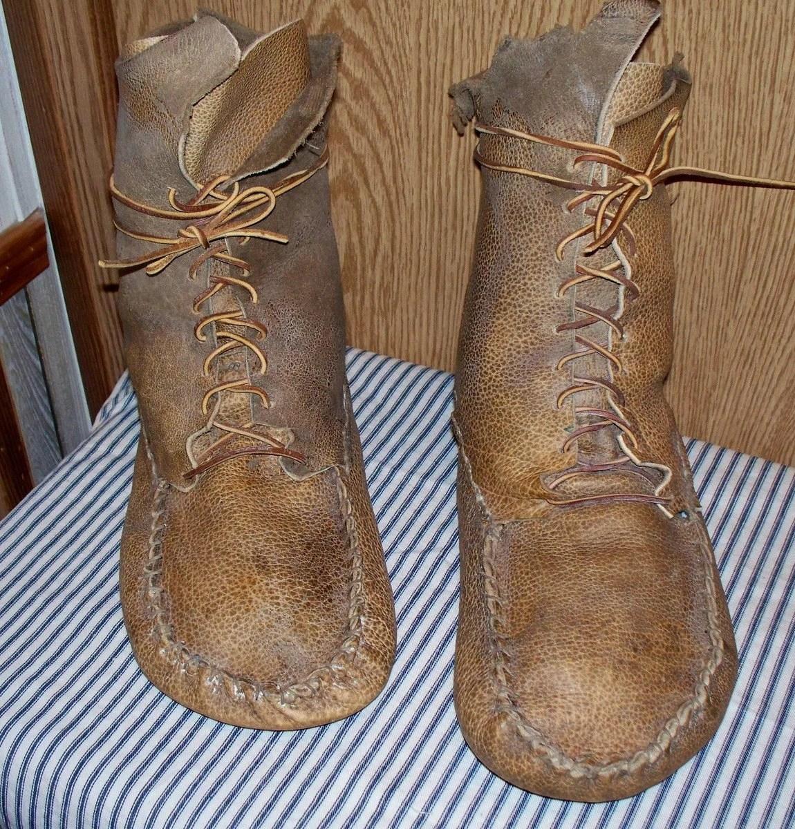 Mountain Boot Moccasins Patterns Man