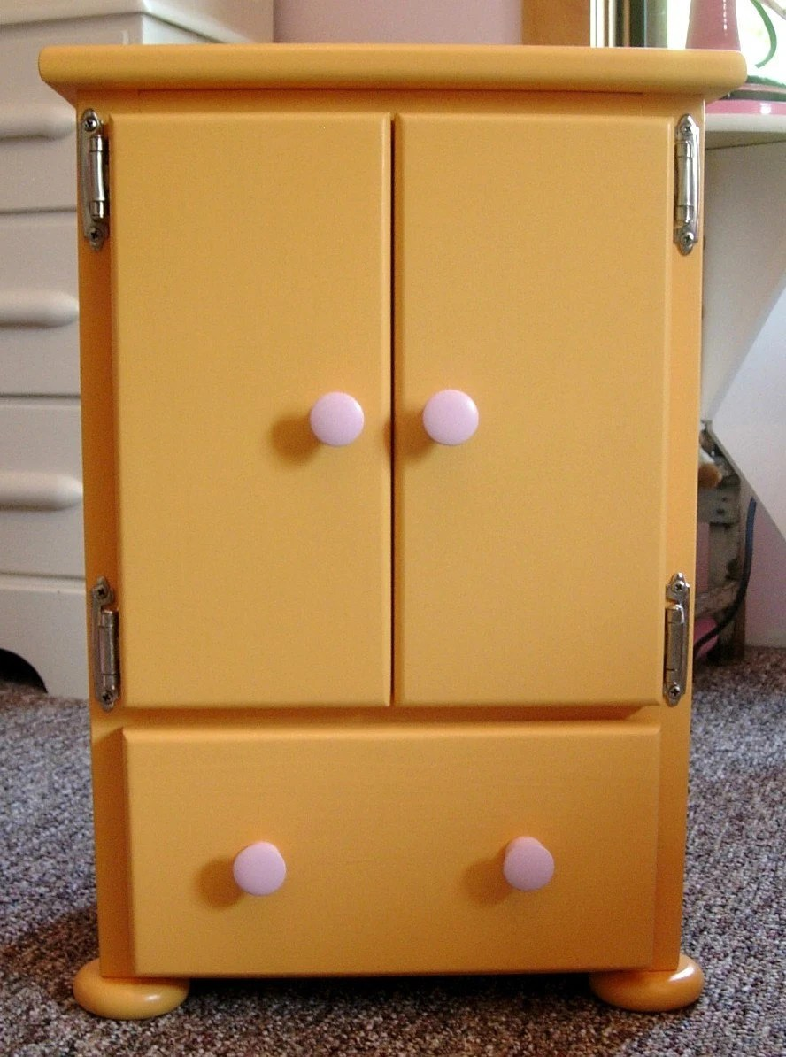 Armoire Dresser for American Girl Doll