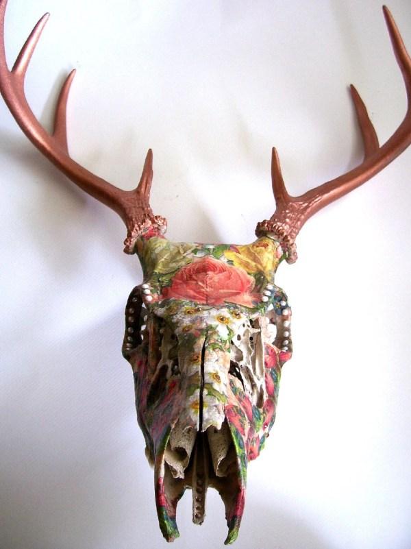 Deer Skull Wall Decor
