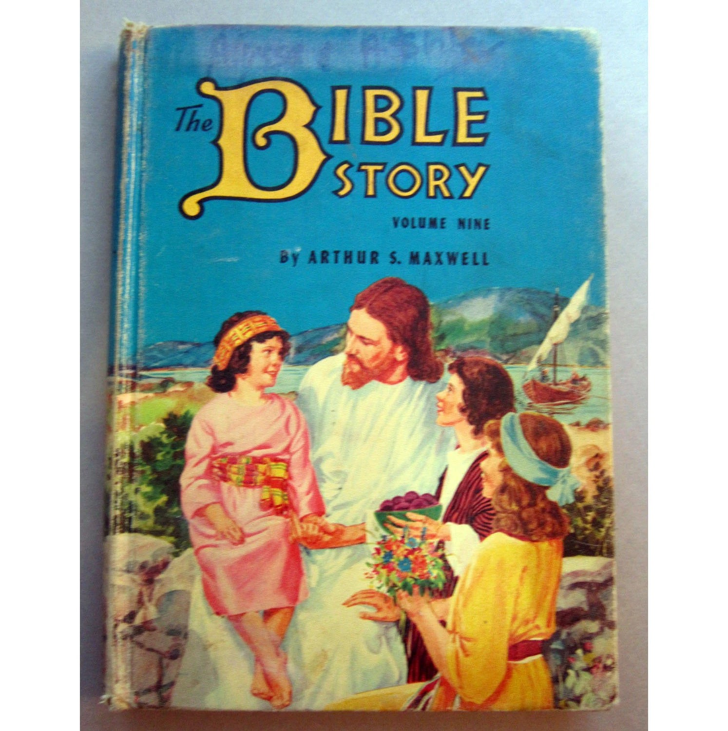 Sale Antique Book The Bible Story Children S Book
