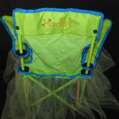 Folding Chair Embroidered Lounge Chairs Walmart Child 39s With Custom Embroidery