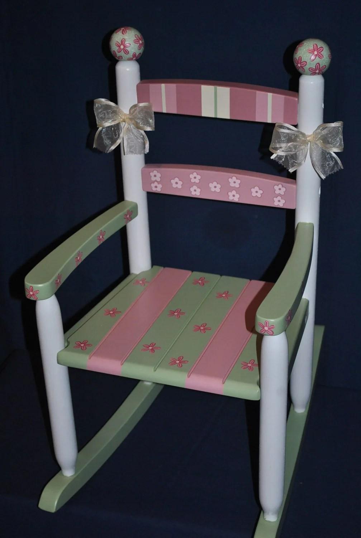 Handpainted Rocking ChairKids Rocking ChairsRocking