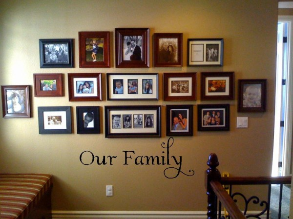Family Wall Collage Ideas