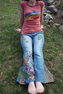 Hippie Bell Bottom Jeans