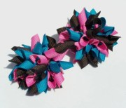 mini korker hair bows in shades