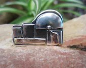 Jerusalem of Silver and Gold  - A Pin Handmade From Israel - JewelryByTamar