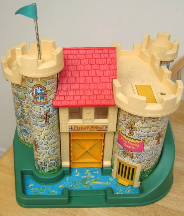 Reserved Vintage Fisher Castle Playset