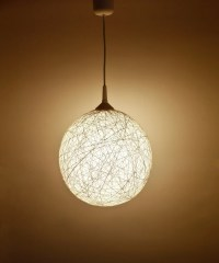 Handmade lamp lighting pendant light hanging by