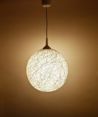Handmade lamp lighting pendant light hanging by ...