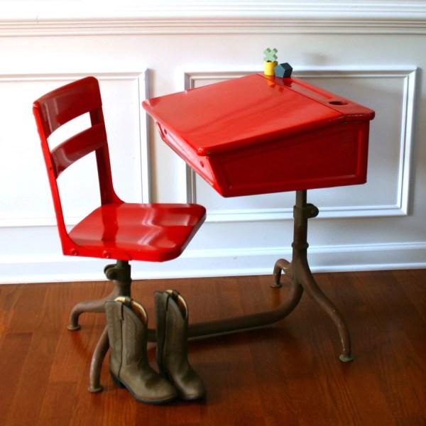 Reserved Acfitts Inspired Learning. Vintage School Desk