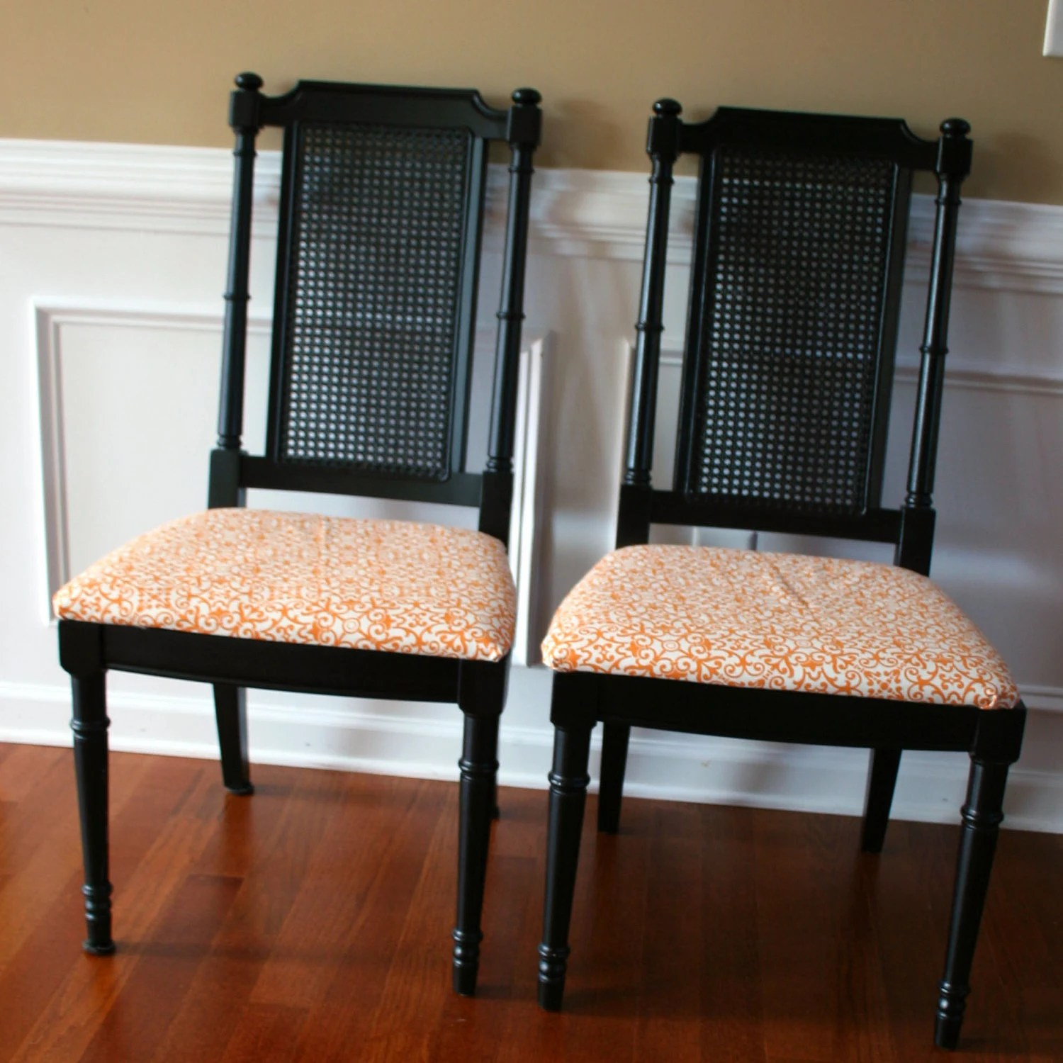 Cane Dining Chairs Cane Chair Vintage Chair Dining Chair Chinoiserie