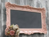 HOLLYWOOD REGENGY WEDDING Chalkboard Pink Baroque Ornate