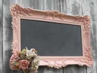HOLLYWOOD REGENGY WEDDING Chalkboard Pink Baroque Ornate