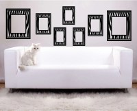 Items similar to Picture Frames Zebra Print Vinyl Wall ...