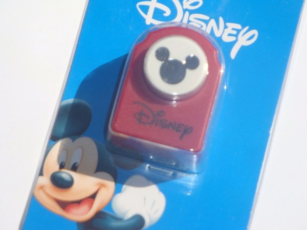 Disney Mickey Mouse Head Paper Punch Suppliesbyakacia